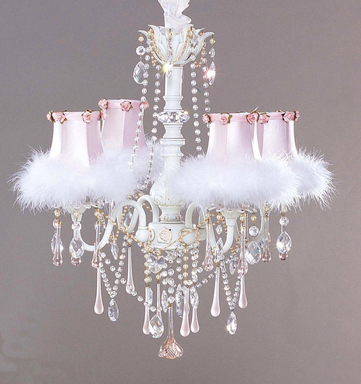 pink-with-feather-crystal-shabby-chic-chandeliers