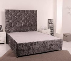 small double bed for small bedroom grey scheme