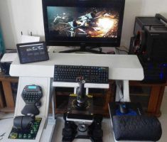 Small Gaming Computer Desk Inspirations Design