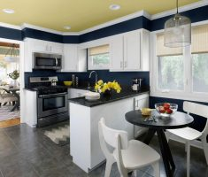 small tiny u shaped kitchen for small space