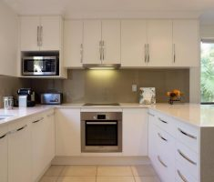 small u shaped kitchen for small space