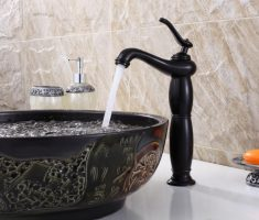 small vessel sink faucets design