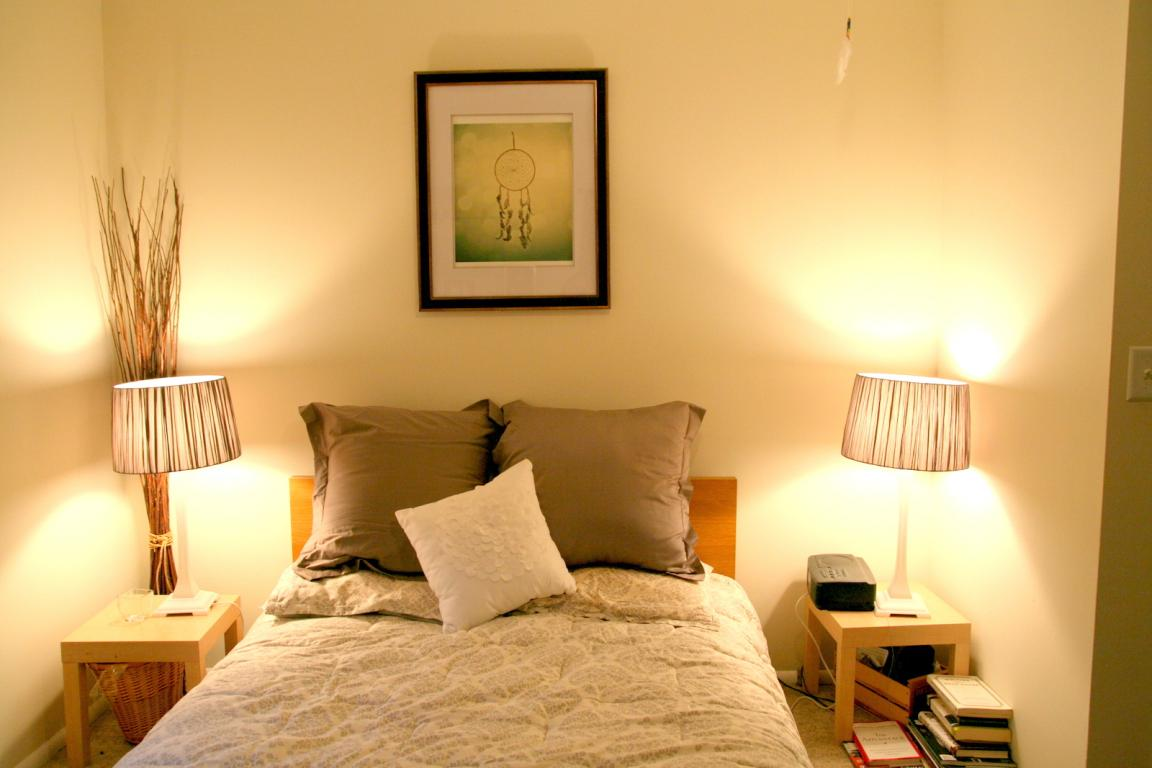 twin bedroom table lamps on small bedroom for adult home