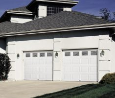 twin wooden white raynor garage doors inspirations