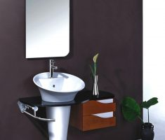 unique modern vanity mirrors for bathroom for small space