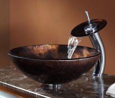 unique vessel sink faucets design