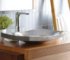 unique vessel sink faucets design for minimalist decor
