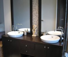 vanity mirrors for bathroom with storage and twin rectangle mirror