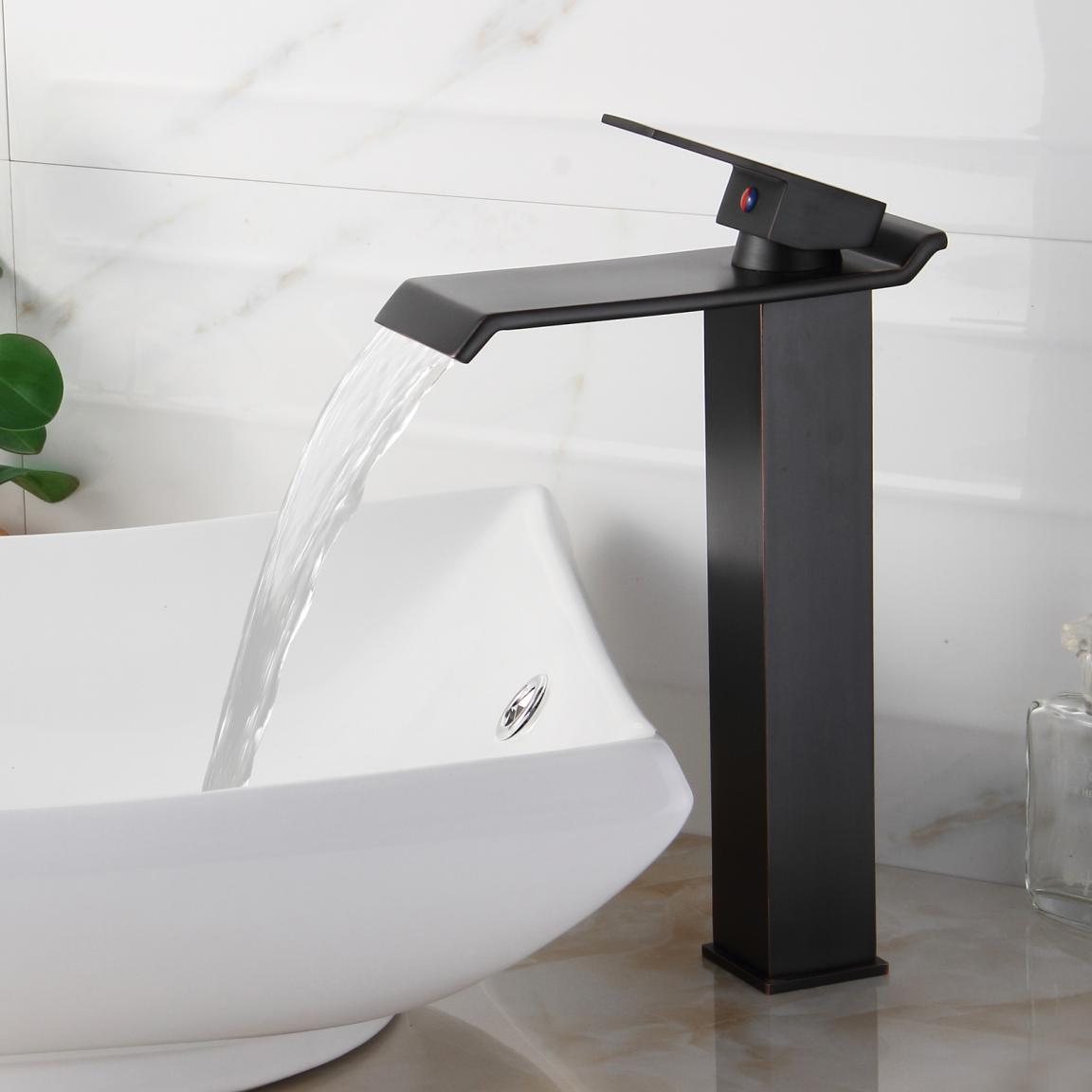 Oil Rubbed Kitchen Faucets