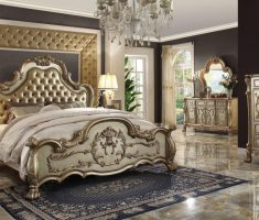 wonderfull golden queen bedroom sets for royal master room