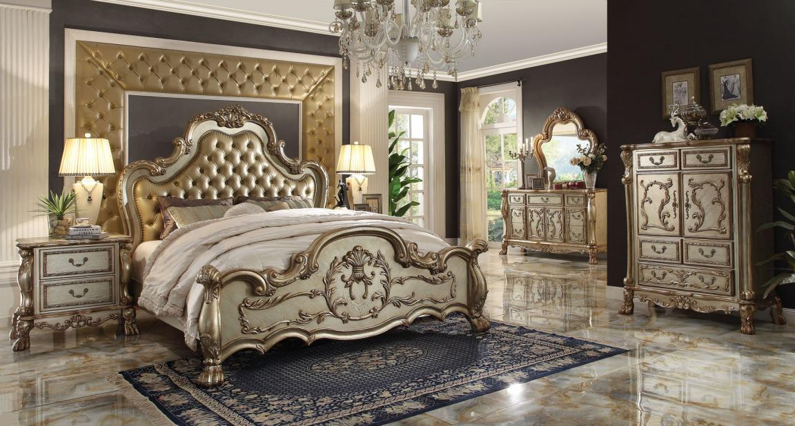 Elegant queen bedroom sets for master room for Master bedroom sets queen