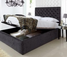 wonderfull storage inside small double bed for small bedroom