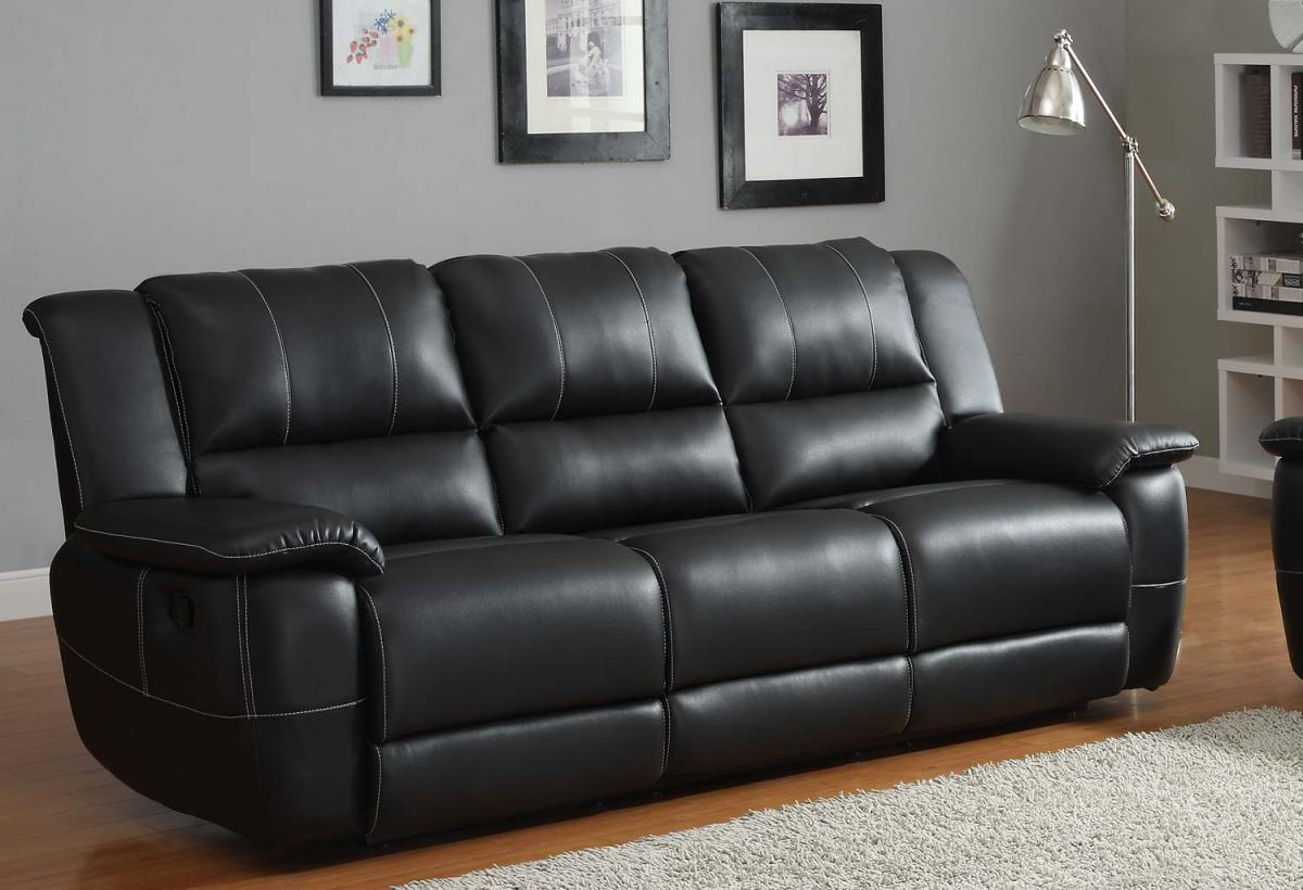 How to choose black sofa for living room for Living room with black leather furniture