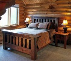 attic oak bedroom decoration furniture