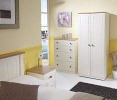 comfortable bedroom with white oak bedroom decoration furniture