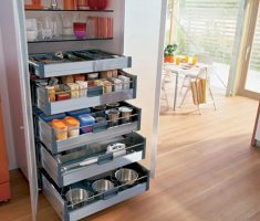 creative small kitchen cabinet with drawer