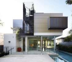 creative house with unique exterior for modern house design