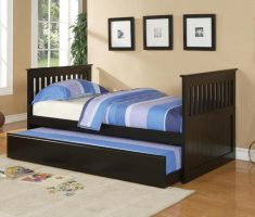 double bedroom for kids with black oak bedroom decoration furniture