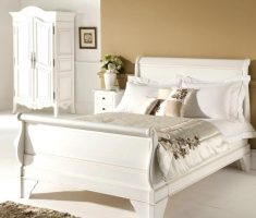 elegant white oak bedroom decoration furniture
