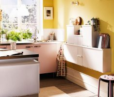 enchanting small kitchen design with hanging small kitchen cabinet