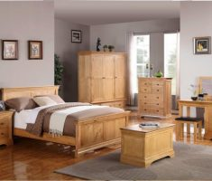 enchanting wooden bedroom decor with oak bedroom decoration furniture