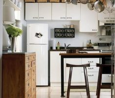 hanging small kitchen cabinet design for small narrow kithcen