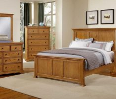 minimalist oak bedroom decoration furniture