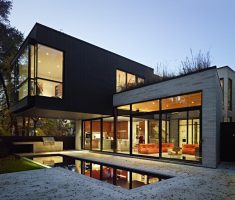 modern house with unique designs box style
