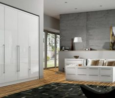 modern big size bedroom with white oak bedroom decoration furniture