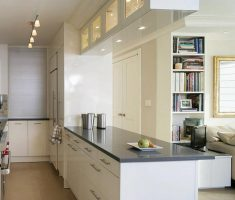 modern small u shaped kitchen for apartment