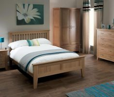rustic oak bedroom decoration furniture