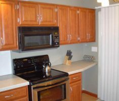 rustic small kitchen cabinet for small kitchen