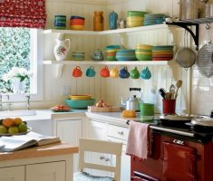rustic small kitchen cabinet for small kitchen space