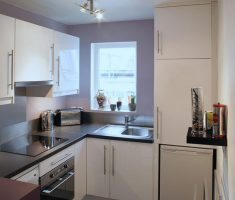 tiny small kitchen space design with small kitchen cabinet