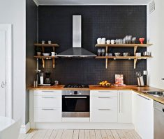 white small kitchen cabinet for small kitchen apartment