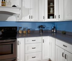white small kitchen cabinet on small l cabinet shape