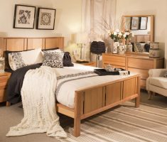 wonderfull wooden bedroom with oak bedroom decoration furniture