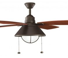 4 wing ceiling fans with lights by kichler