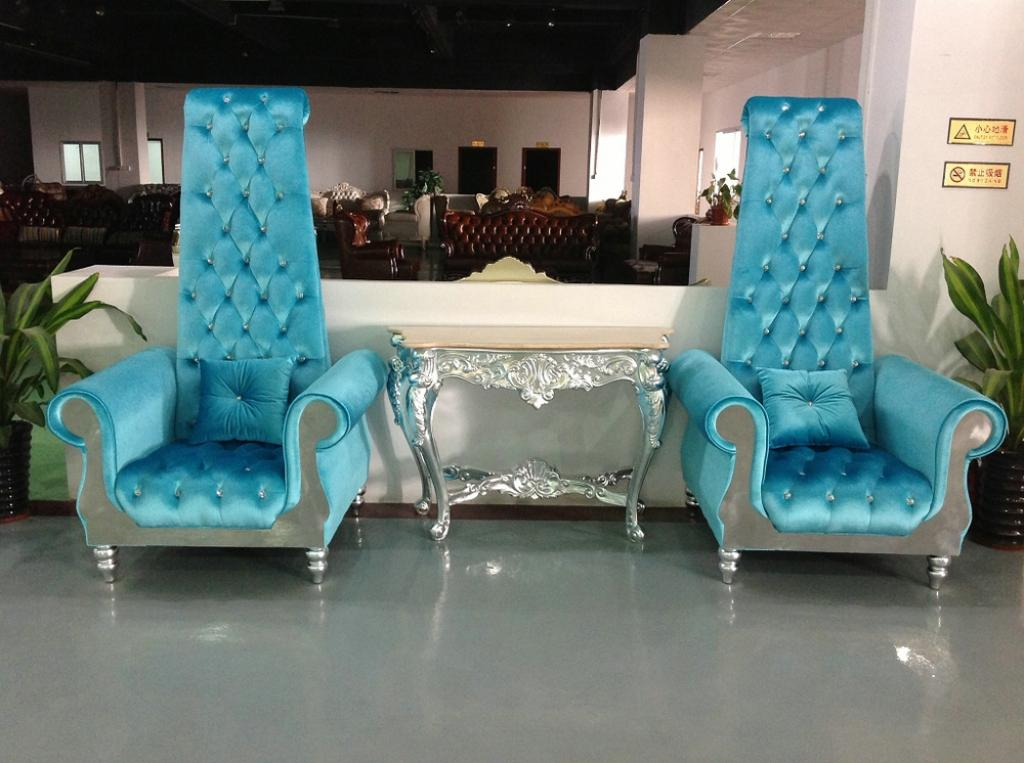 adorable-modern-tufted-blue-high-back-chair-with-arm-for-modern-decorations