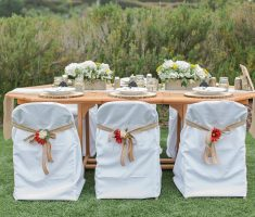 alluring folding chair covers white for wedding