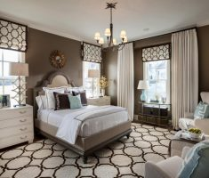 alluring master bedrooms decoration white and brown theme