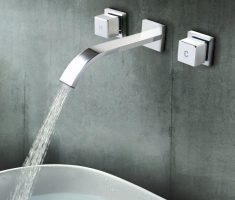 alluring modern bathroom wall faucets simple design