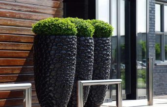 alluring-modern-garden-pots-with-stone-material