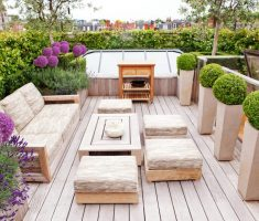 amazing modern garden pots tall style for natural outdoor living room