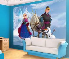 anna and kristoff disney princess bedroom and olaf