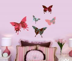 beautiful butterfly for removable wall decals inspirations