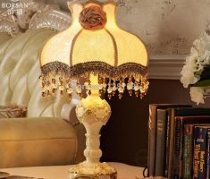 beautiful table lamps for modern royal living room decor