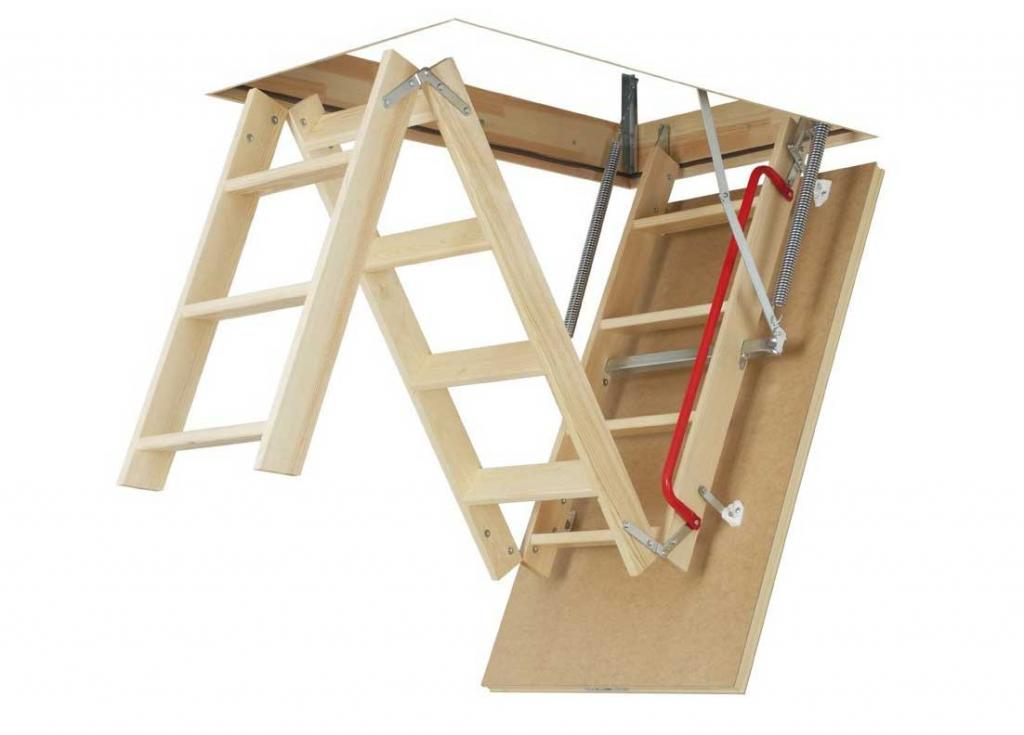 Pull Down Attic Stairs Saving Space And Convenience