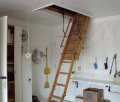 best small pull down attic stairs
