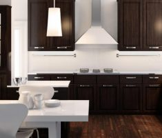 black modern ikea kitchen cabinets